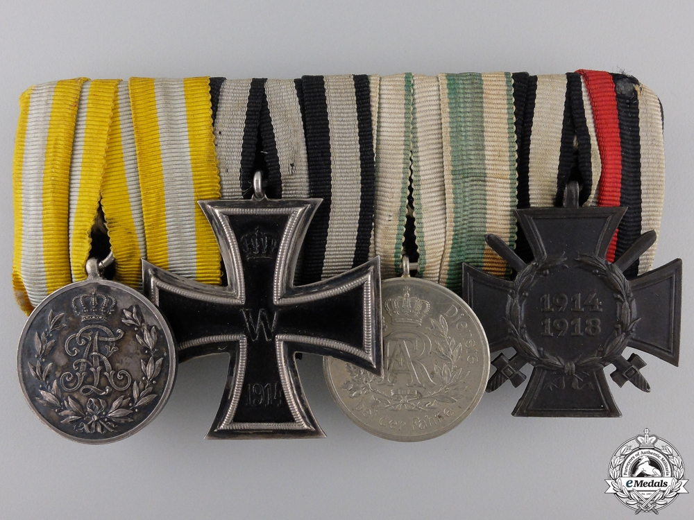 eMedals-A First War German Imperial Medal Group of Four