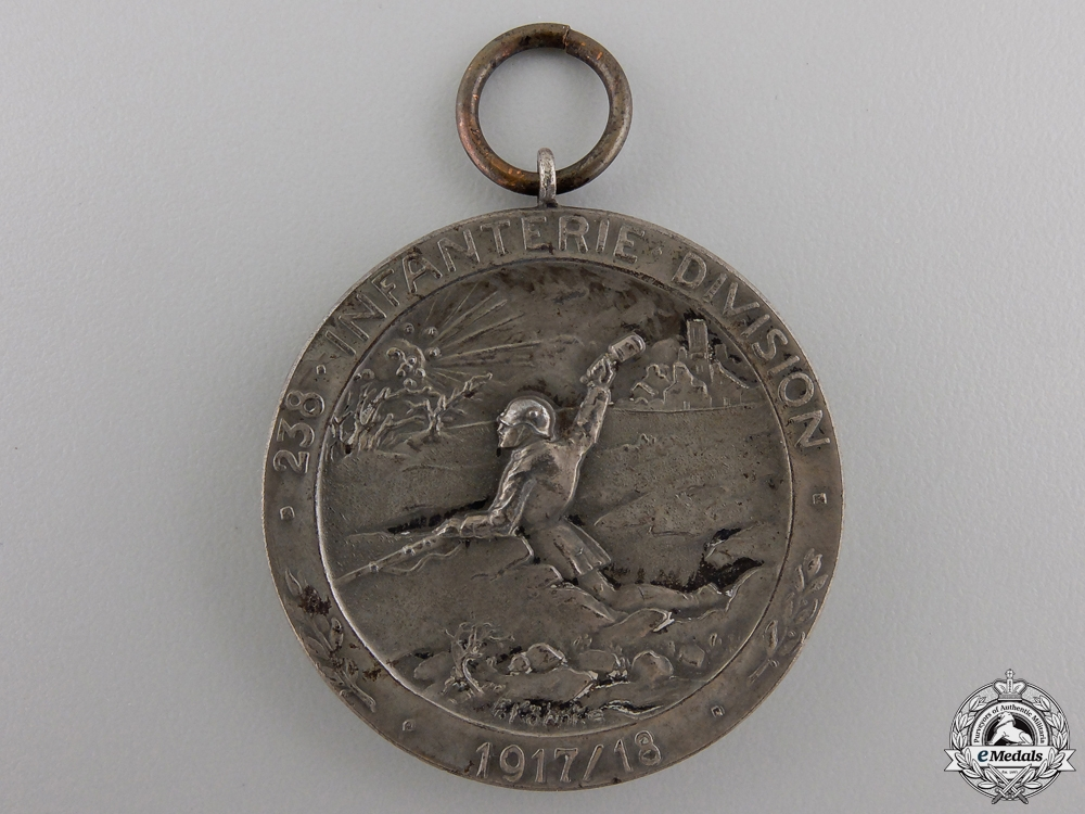 eMedals-A First War German 238th Infantry Division Bravery Award