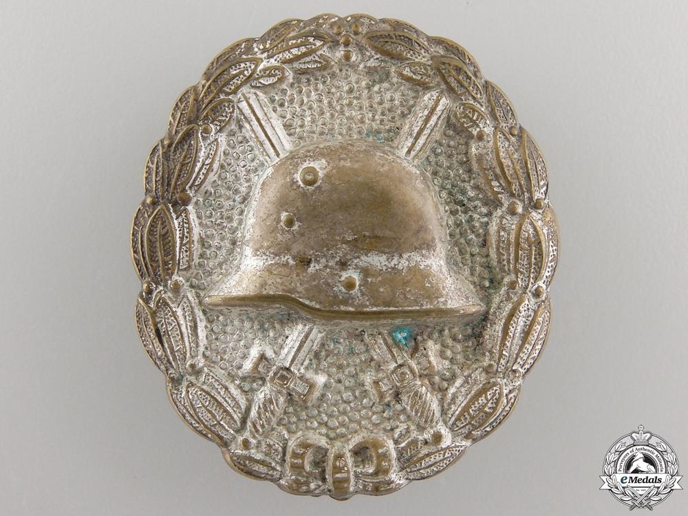 eMedals-A First War German Wound Badge; Silver Grade