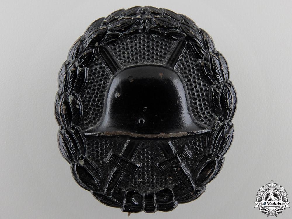 eMedals-A First War German Wound Badge; Black Grade