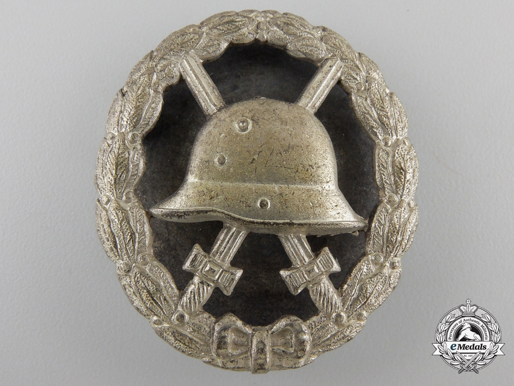 eMedals-A First War German Wound Badge; Silver Grade Screwback