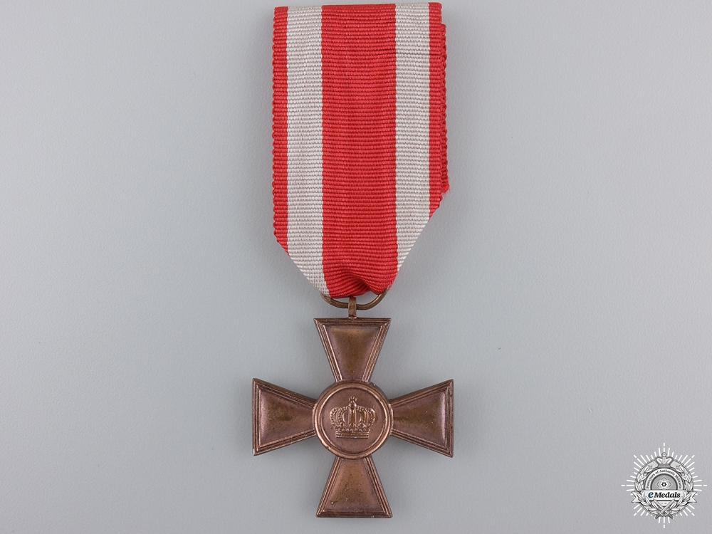 eMedals-A First War Hessen Military Long Service Cross; 1st Class