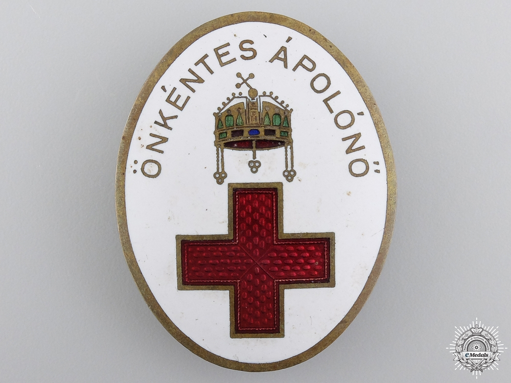 eMedals-A First War Hungarian Red Cross Badge