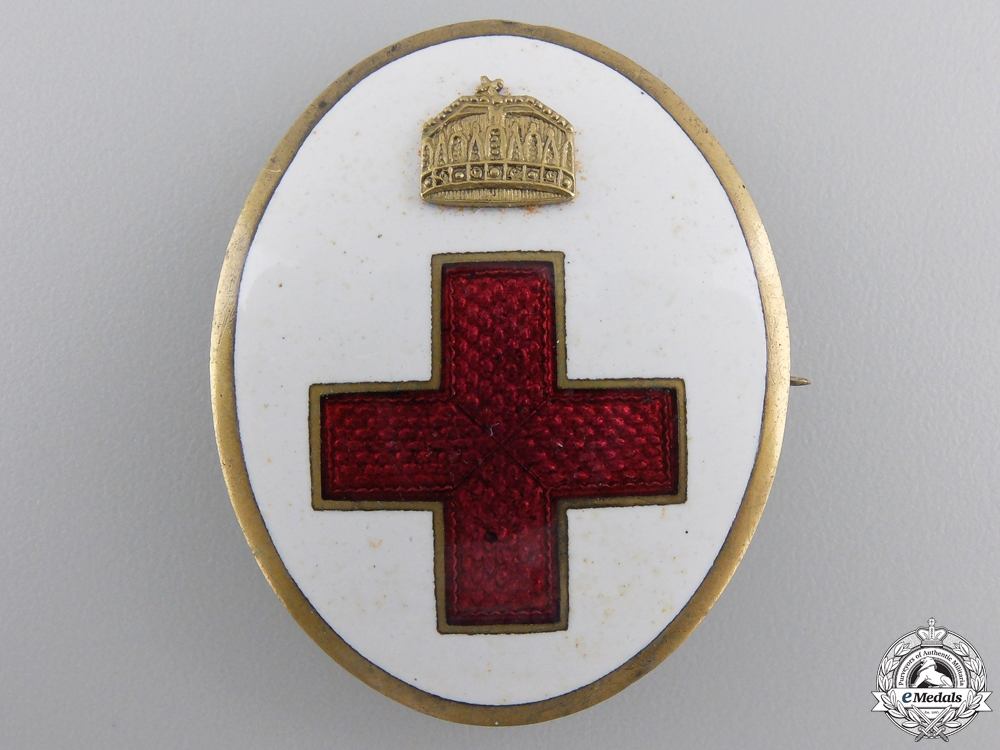 eMedals-A First War Hungarian Red Cross Badge