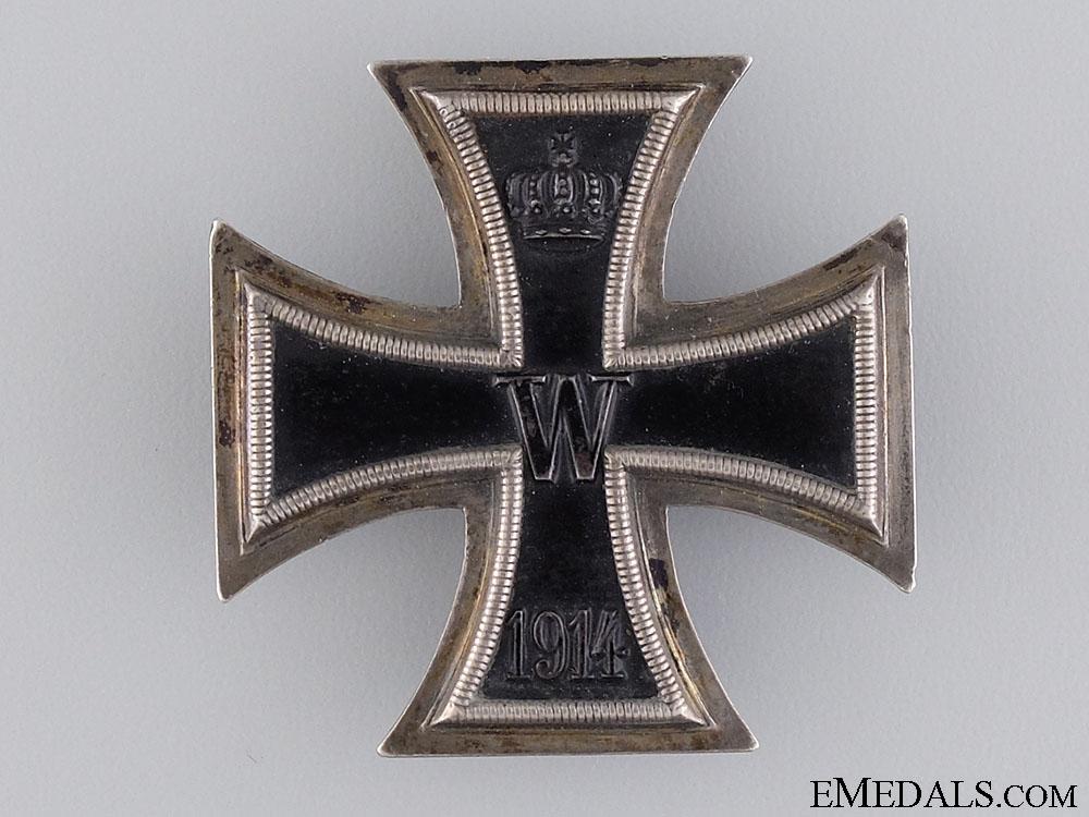 eMedals-A First War Iron Cross 1st Class 1914; Silver