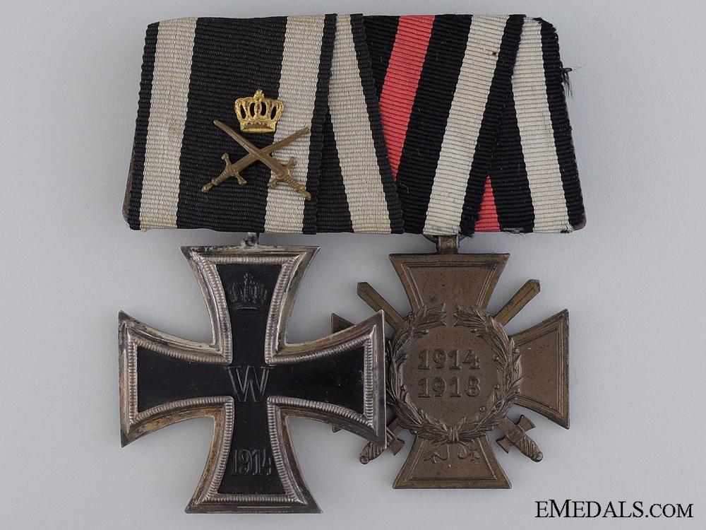 eMedals-A First War Iron Cross Medal Pair