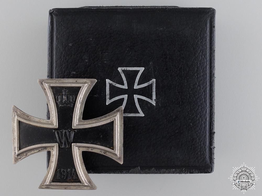 eMedals-A First War Iron Cross First Class 1914; 800 Silver with Case