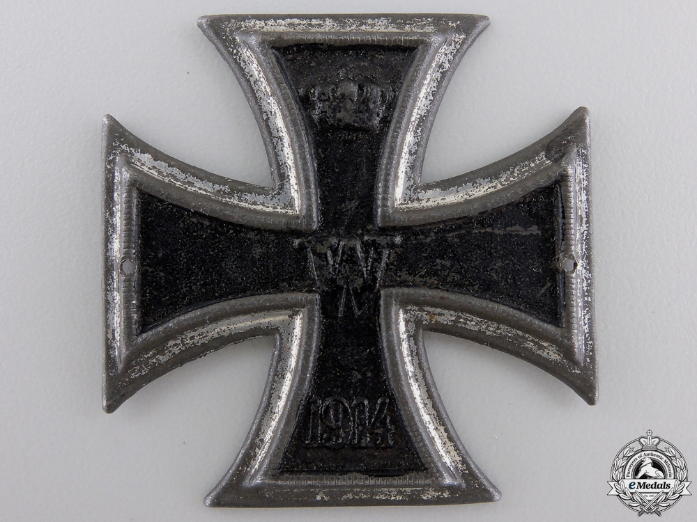 eMedals-A First War Iron Cross 1914 First Class; Sew-On Version