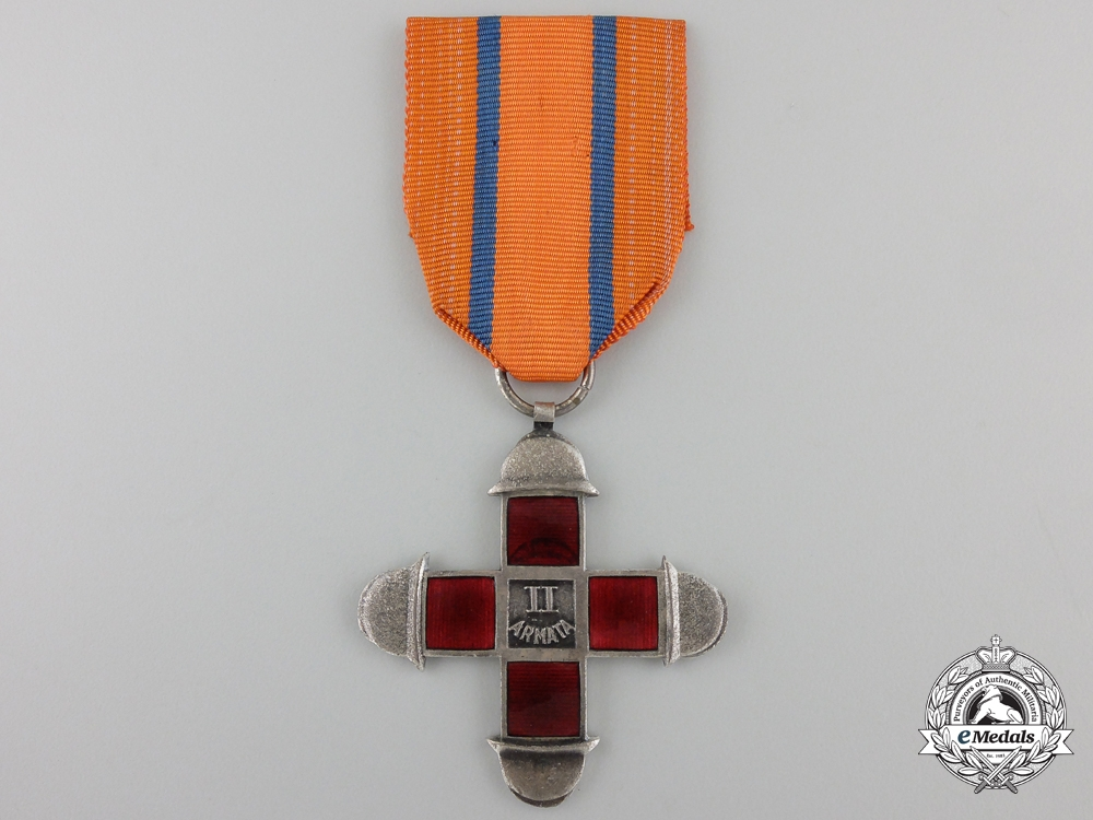 eMedals-A First War Italian 2nd Army Commemorative Cross