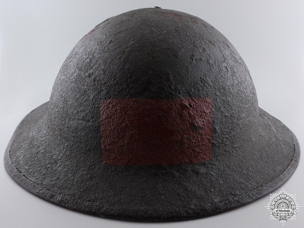 eMedals-A First War Mark II 1st Battalion Canadian Helmet