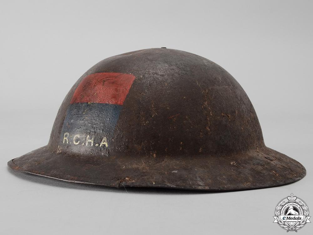 eMedals-A First War Mark II Royal Canadian Horse Artillery Helmet