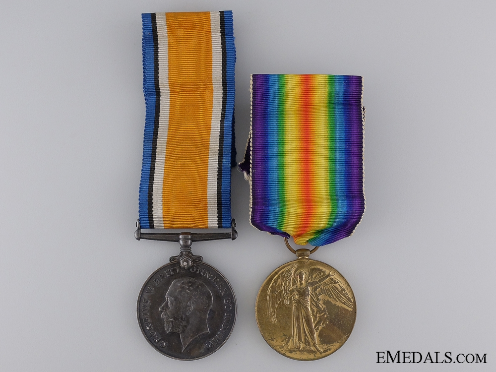 eMedals-A First War Medal Pair to the Royal Army Medical Corps