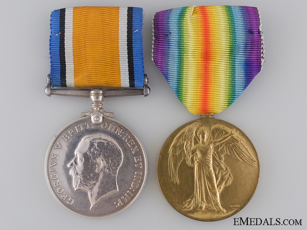 eMedals-A First War Medal Pair to Major George F. Stephens C.A.M.C.  Consgin: 17