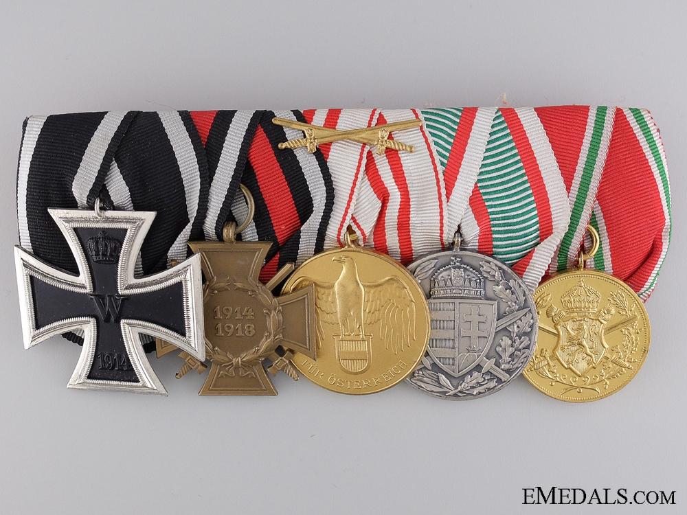 eMedals-A First War Medal Bar of Five Awards
