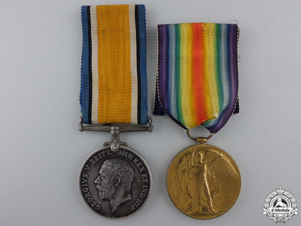 eMedals-A First War Medal Pair to the Royal Scots; Battle of the Somme