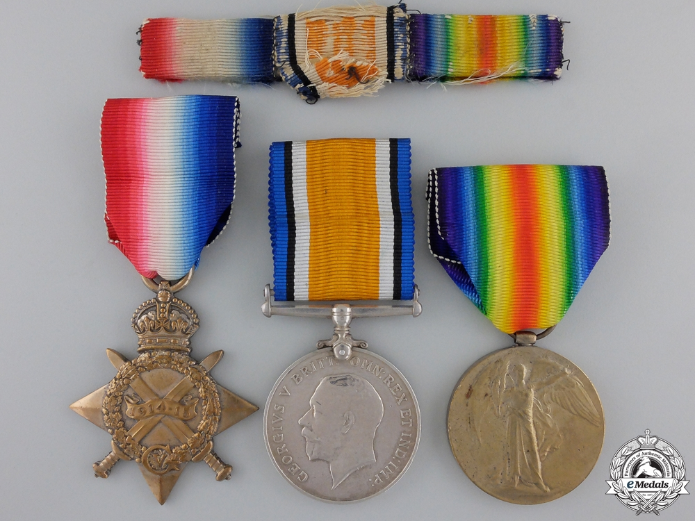 eMedals-A First War Medal Group to the 5th Canadian Mounted Rifles