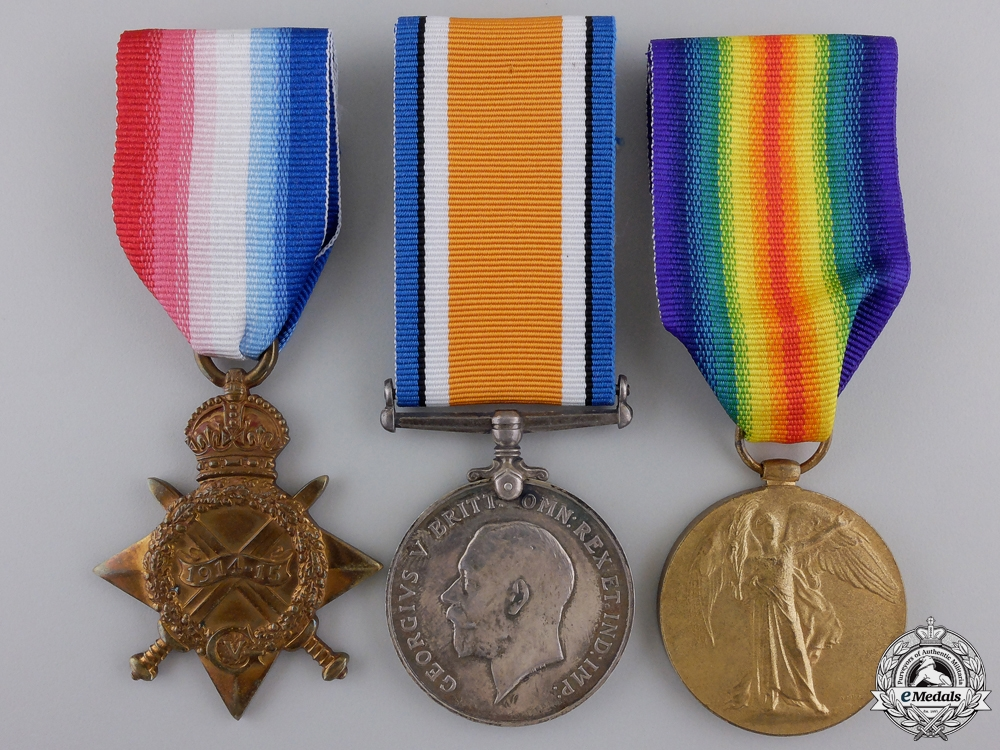 eMedals-A First War Medal Group to the Army Veterinary Corps