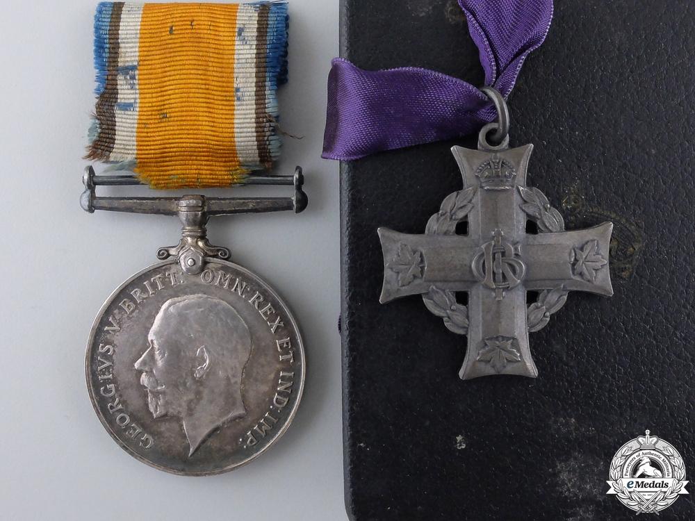 eMedals-A First War Memorial Cross to Captain Robert Neilson CEF