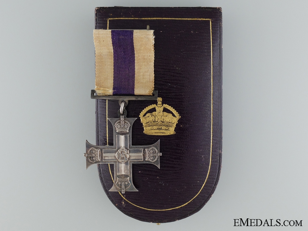 eMedals-A First War Military Cross to Second lieutenant E.C. Jervis