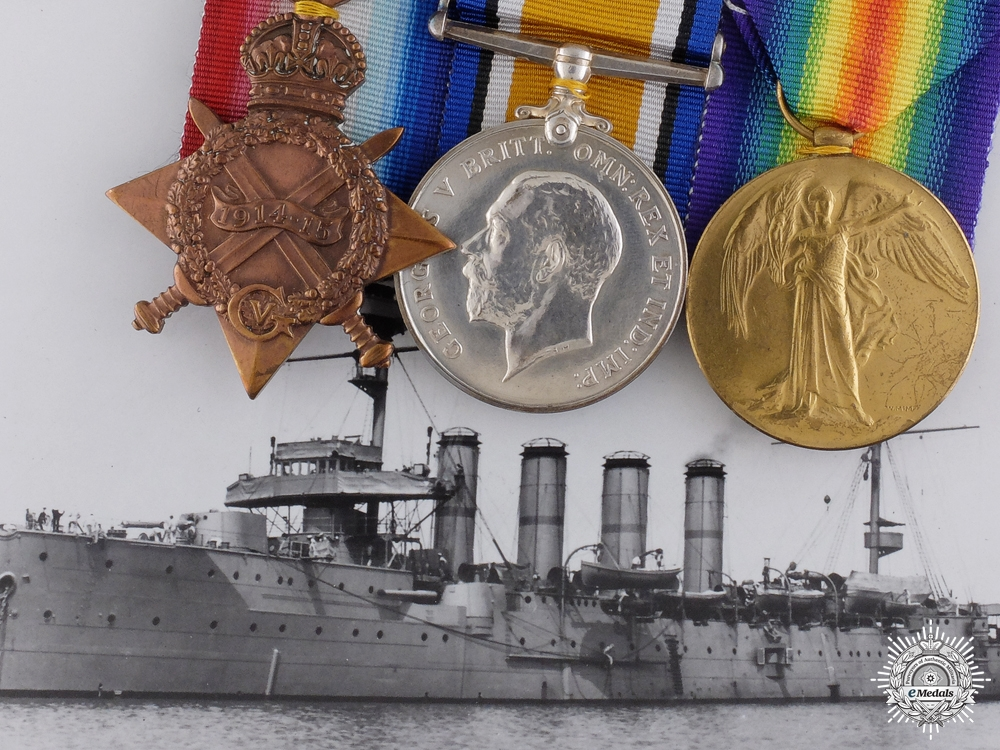 eMedals-A First War Naval Group to Commissioned Shipwright Sole