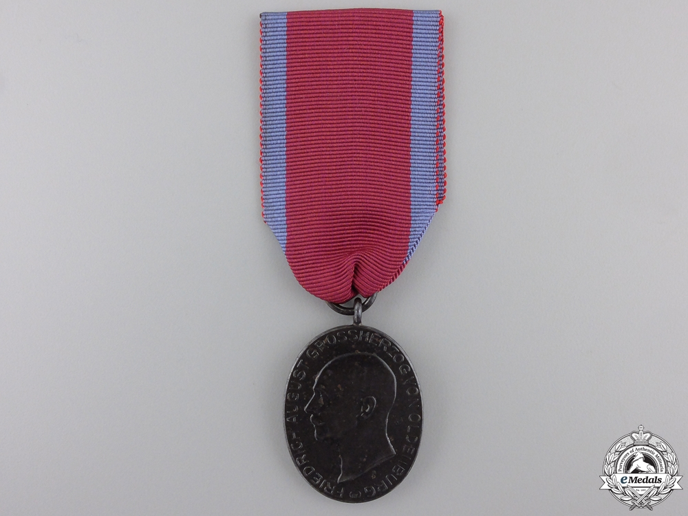eMedals-A First War Oldenburg Faithful Service Medal 1916-18