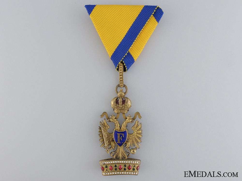eMedals-A First War Order of the Iron Crown; Third Class