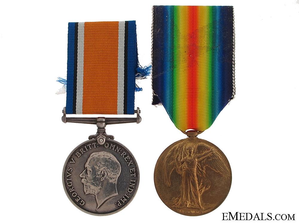 eMedals-A First War Pair to the Canadian Artillery