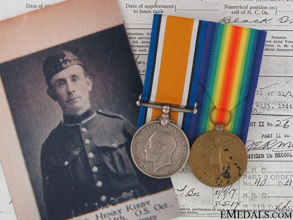 eMedals-A First War Pair to the 2nd Canadian Infantry CEF