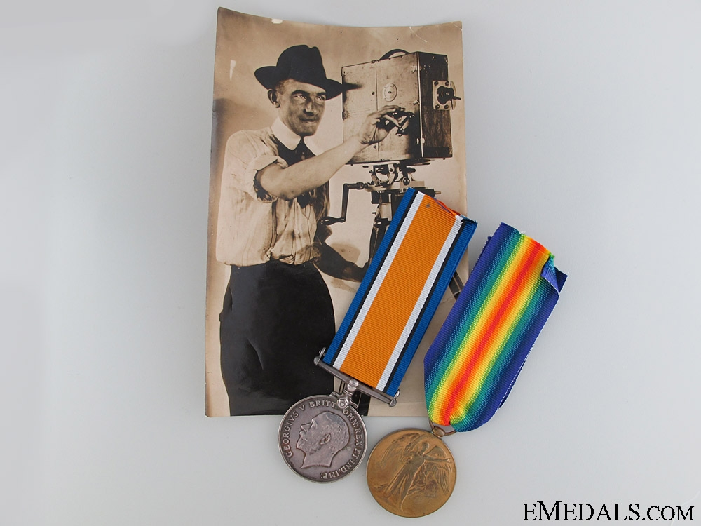 eMedals-A First War Medal Pair to the 38th Canadian Infantry