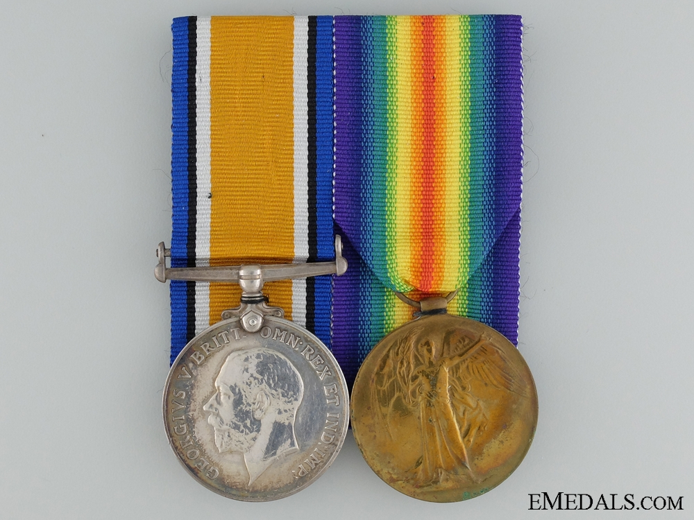 eMedals-A First War Pair to the Canadian Labour Battalion