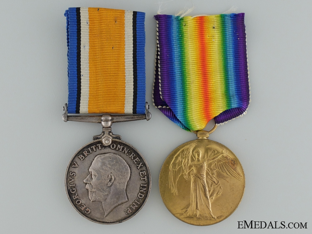 eMedals-A First War Pair to the Canadian Garrison Artillery CEF