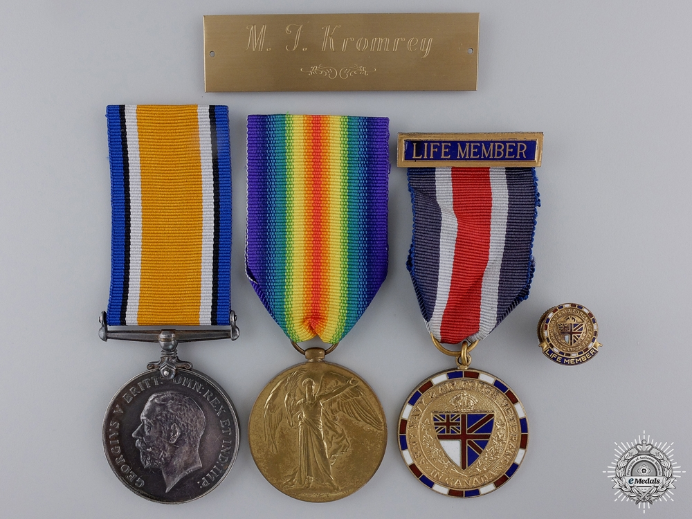 eMedals-A First War Pair to the 15th Infantry Battalion