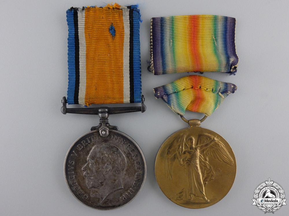 eMedals-A First War Pair to the Queen Mary's Army Auxiliary Corps