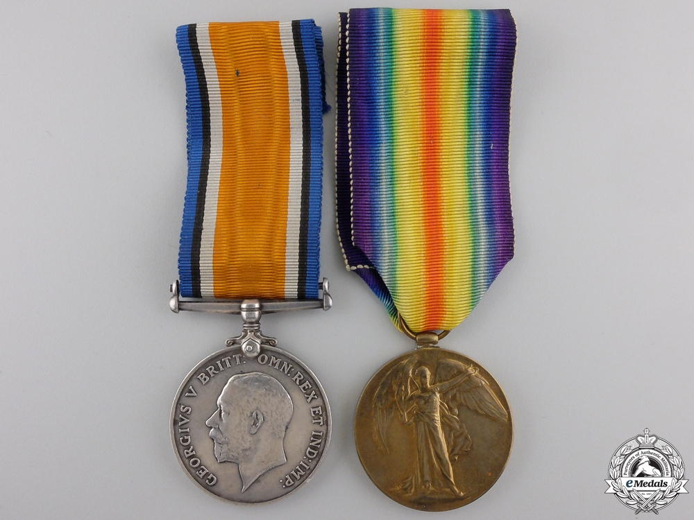 eMedals-A First War Pair to the Royal Flying Corps