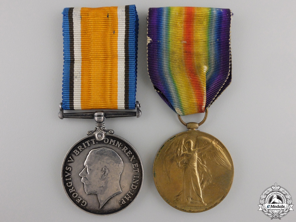 eMedals-A First War Pair to the 1st Canadian Mounted Rifles
