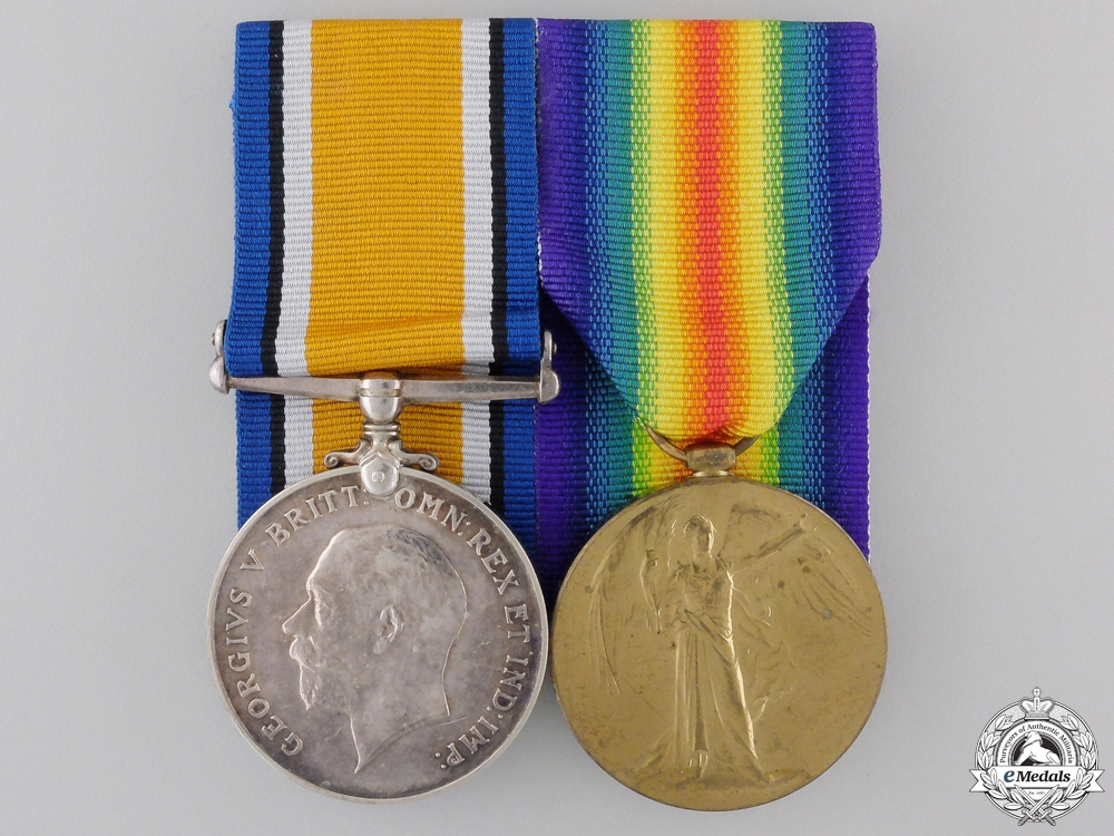 eMedals-A First War Pair to the Royal Field Artillery