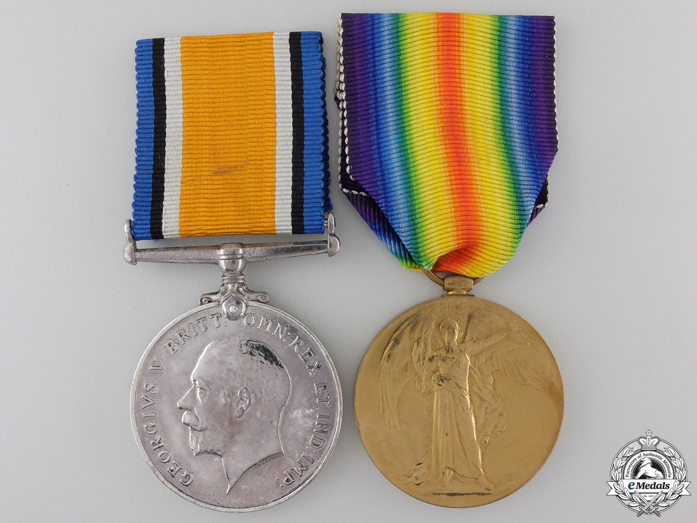eMedals-A First War Pair 16th Canadian Infantry