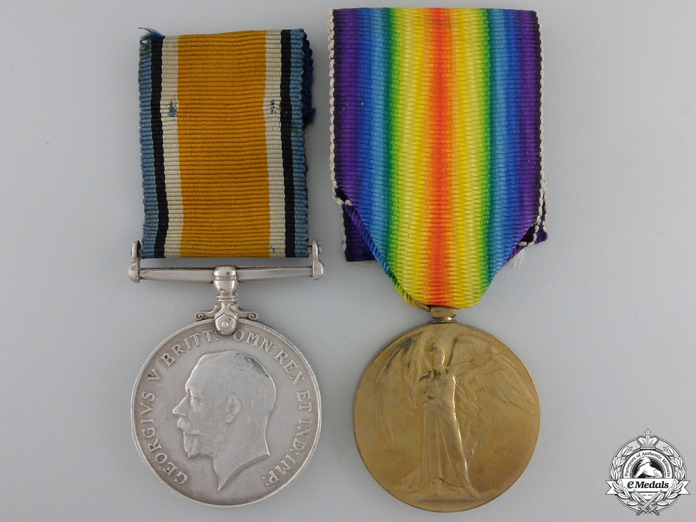 eMedals-A First War Pair to the 5th Canadian Infantry Battalion
