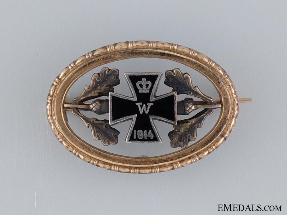 eMedals-A First War Patriotic Iron Cross