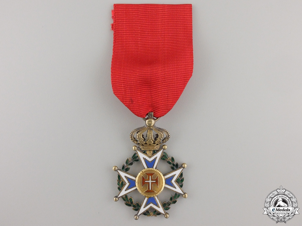 eMedals-A First War Portuguese Order of Military Merit; Officers Cross
