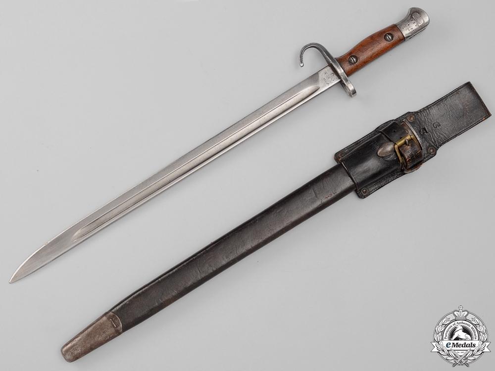eMedals-A First War Rare Australian Quillon Bayonet