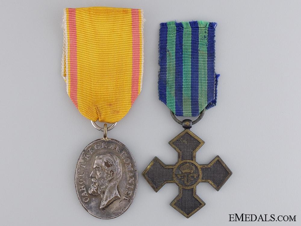 eMedals-A First War Romanian Pair