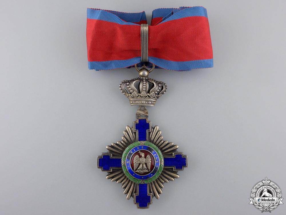 eMedals-A First War Romanian Order of the Star;  Commander's Cross