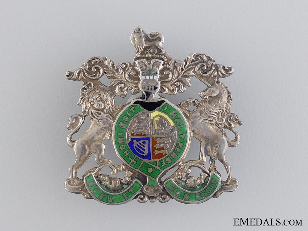 eMedals-A First War Royal Coat-of-Arms Badge