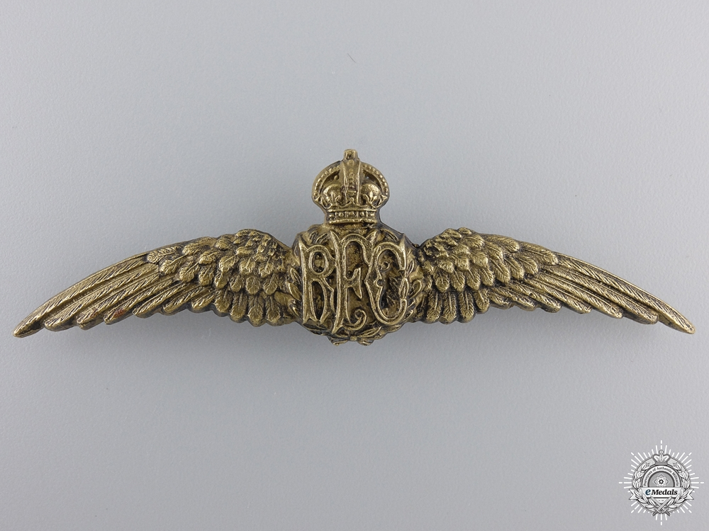 eMedals-A First War Royal Flying Corps Wing