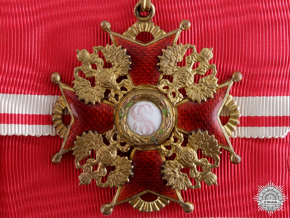 eMedals-A First War Russian Order of St. Stanislaus; 2nd Class by Eduard