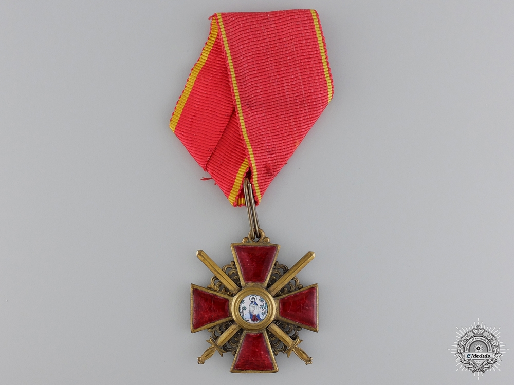eMedals-A First War Russian Order of St. Anne; Third Class by Eduard