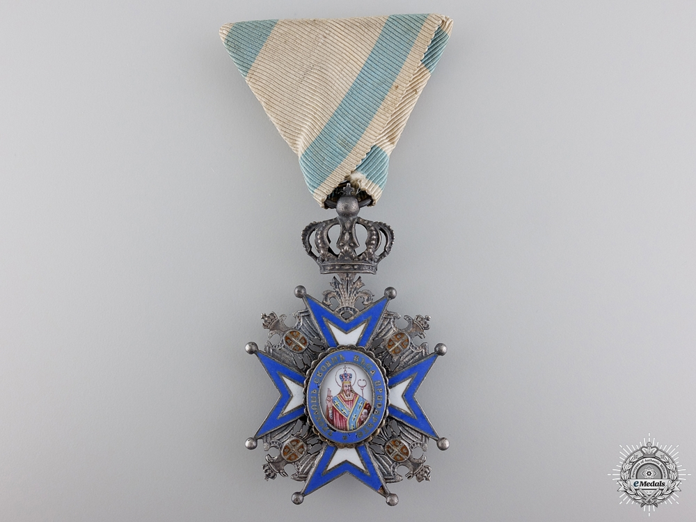 eMedals-A First War Serbian Order of St. Sava ; 5th Class Badge