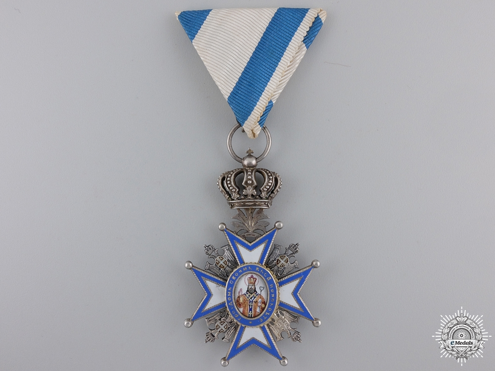 eMedals-A First War Serbian Order of St. Sava; 5th Class