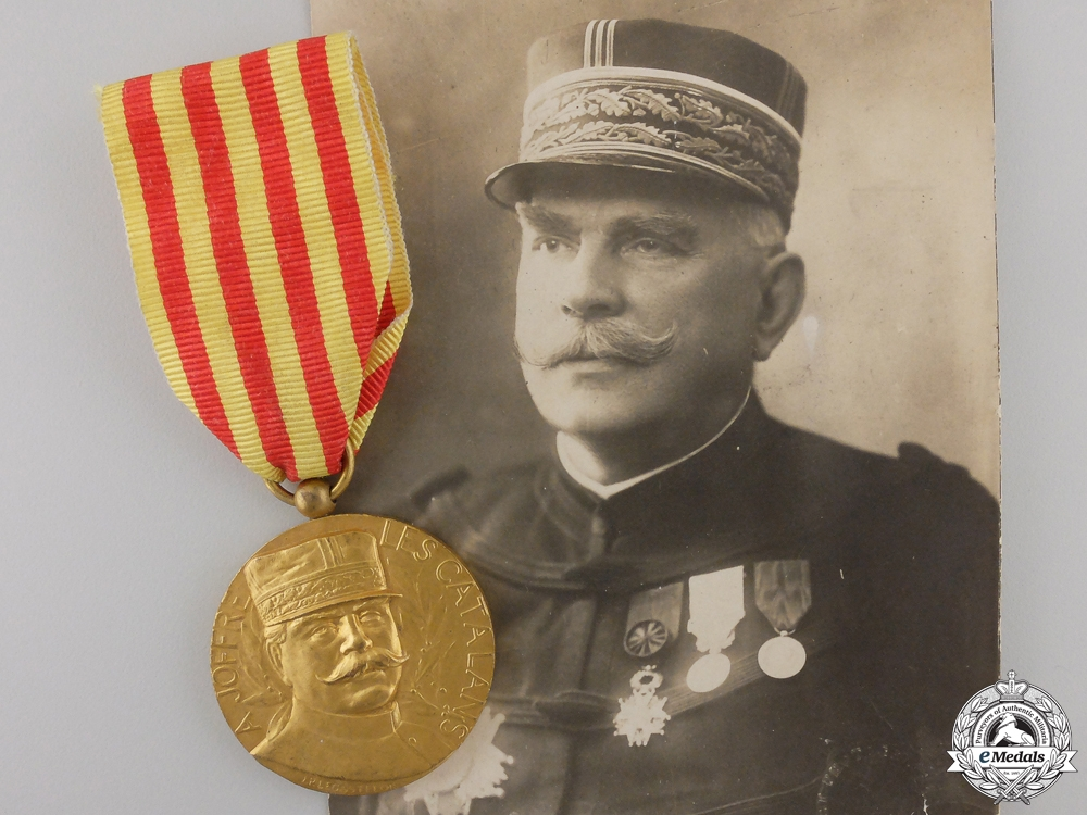 "eMedals-A First War Spanish Volunteer's ""Joffre"" Medal"